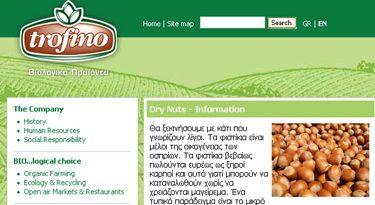 Trofino – Organic Dry Nuts